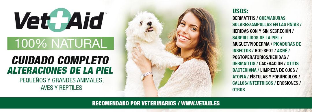 Vet+Aid tratamiento integral de problemas de la piel