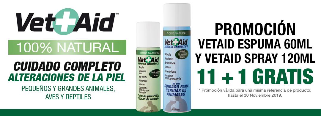 Promoción especial VetAid Espuma y VetAid Spray